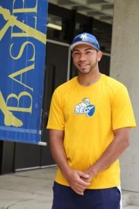 Knights Assistant Baseball coach Jhonneris Mendez is now a U.S. Citizen.
