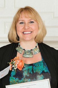 NECC's Dean of Student Success Dawna Perez of Haverhill was recently honored by the Lawrence YWCA.