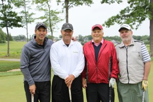 Team NexDine - David Lanci, Gregg Hartman, Gennaro Ruocco, and Barry Towle took first place in the Second Annual NECC Alumni Golf Tournament at The Renaissance Golf Course in Haverhill.