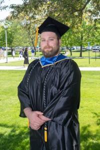 NECC Lab Science Graduate, Zachary Rice