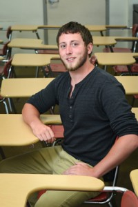 One of the most importatn lesons Jacob Barry of Andover learned at NECC is that he is a god student.