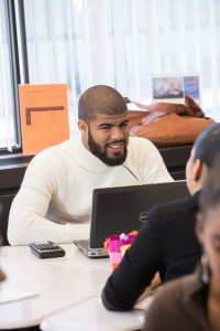 When Lawrence resident Jean Carlos Gomez was a student at NECC, he spent hours everyday in the Student Success Center (SSC). He credits the center for his success in earning an associate degree.