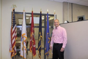 """Jeff Williams, director of NECC's Veterans Services, is pleased Northern Essex has been named to the """"MilitaryTimes"""" Best for Vets list."""