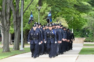 NECC Police Recruit Graduation on the Haverhill campus.
