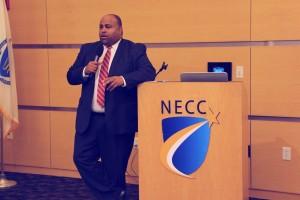 Lawrence Mayor Dan Rivera was the keynote speaker at NECC's Veteran's Appreciation Luncheon.