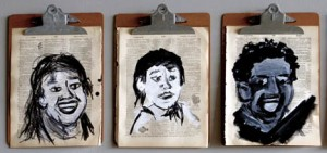 """Brian Alves's piece """"Diversity"""" is one of the many pieces that explores identity."""