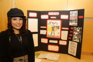 """Say No More"" a screenplay and potential graphic novel, was Jennifer Lebron's Honors Experience Project."