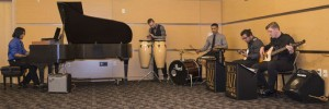 The NECC Jazz Rock Ensemble performing during last winter's show.
