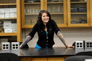 NECC Engineering Science degree transfer student Nicole Catanzaro