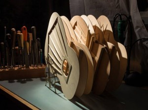 Not quite a guitar...strutted soundboards await completion.