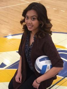 Merrimack College Fellow Monica Reum is the new NECC women's volleyball coach.