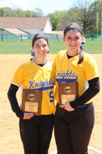 Kelsey Trudel of Salisbury and Madison Crateau of Georgetown were selected to the National Junior College Athletic Association (NJCAA) Region XV All Tournament Team.