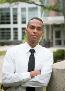 Klinbert Garcia was recenlty elected the student representative to the NECC Board of Trustees.