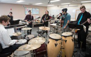 The NECC Jazz/Rock Ensemble will present its Holiday concert Thursday, December 8.