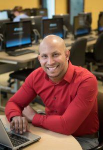 NECC computer science major Anthony Mirely received an internship at Boston company Vertex Pharmaceuticals through the selective Hack.Diversity program.