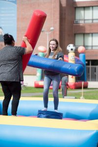 NECC students enjoy one of last year's homecoming events.