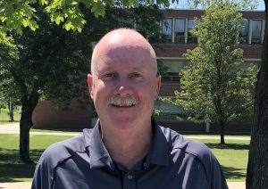 Tim Foley  is NECC's new Cross Country coach.