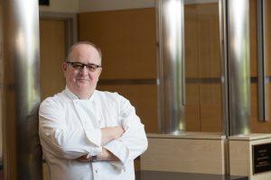 Denis Boucher in a chef's coat