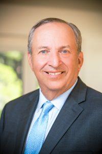 Portrait of Harvard President Emeritus Lawrence H. Summers
