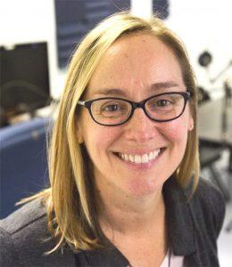 Dean of Liberal Arts Amy Callahan smiles at the camera