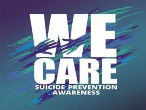 Graphic of Suicide Prevention Awareness
