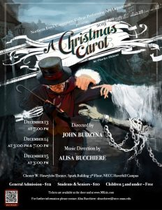 """Poster of """"A Christmas Carol"""""""