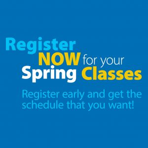 graphic for spring registration