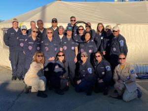 A group photo of trauma team members.
