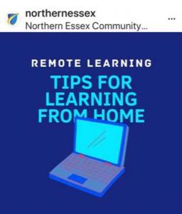Screenshot of Northernessex Instagram account.