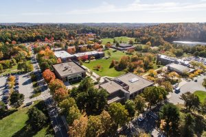 Aerial view of the Haverhill Campus