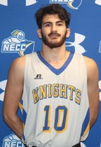 portrait of a Knights basketball player