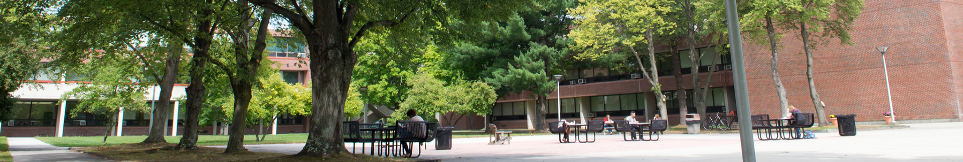 Haverhill Campus resting area