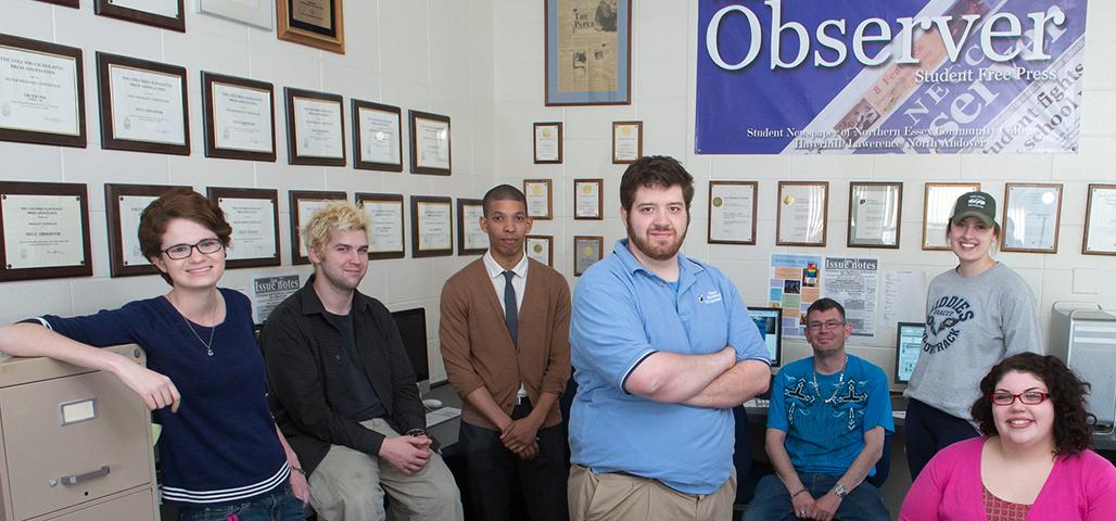 Get involve at NECC Observer Student Free Press