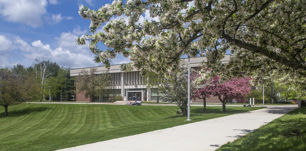 Photo of the Haverhill Campus in Spring