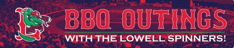 Lowell Spinners Game and Barbecue Outing