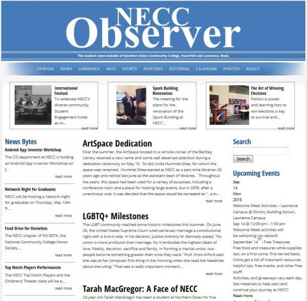 NECC Observer Online