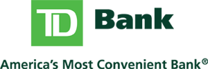 TD Bank - America's Most Convienent Bank Logo