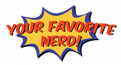 colorful logo for your favorite nerd website