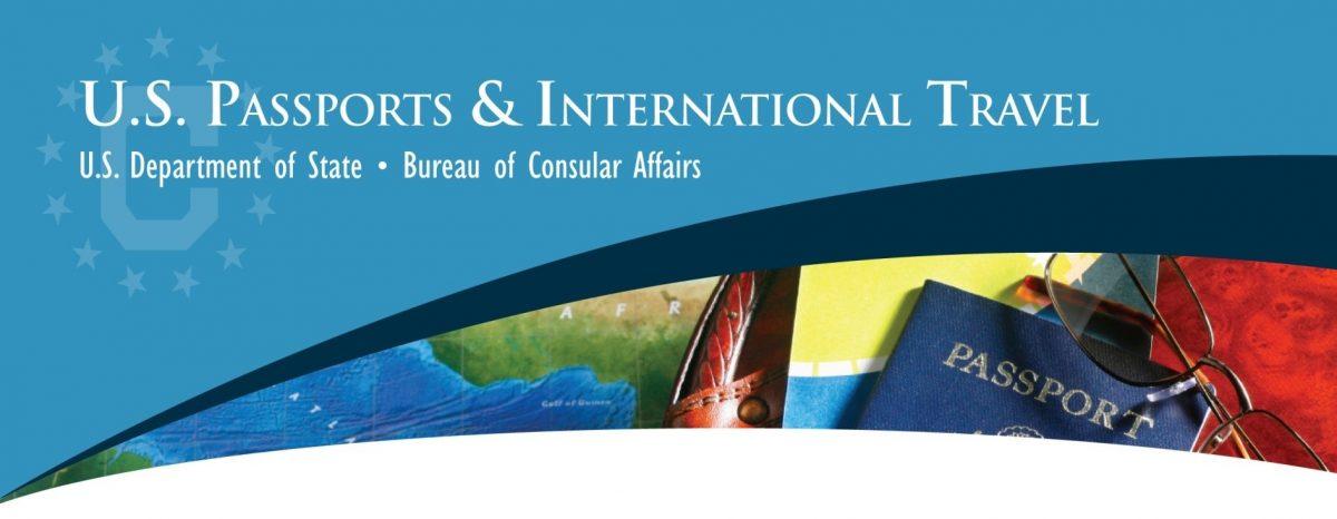 U.S. Passports & International Travel. U.S. Department of State. Bureau of Consumer Affairs.