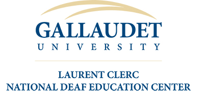 Gallaudet University, Laurent CLERC National Deaf Education Center logo