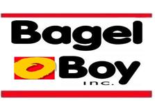 Bagel Boy of Lawrence Logo
