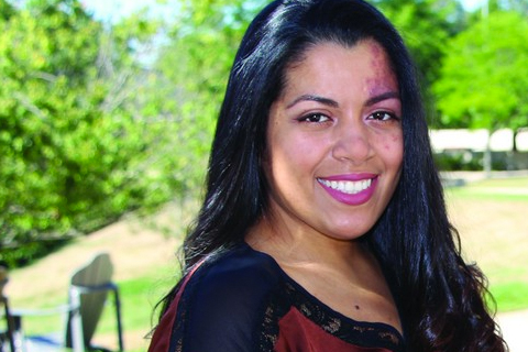 Karina Calderon earned a degree while balancing work and home life