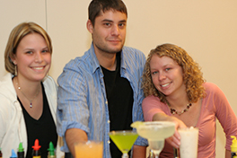 mixology students show off their efforts