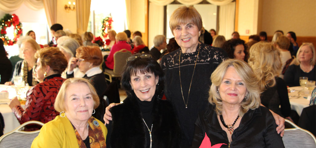 Four of the women of NECC