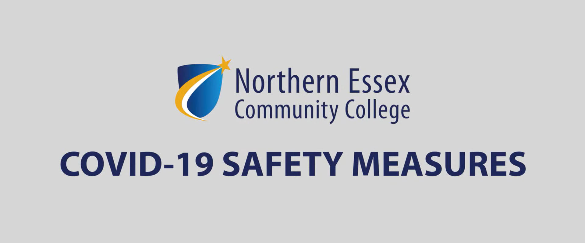 NECC Logo and COVID-19 Safety Measures