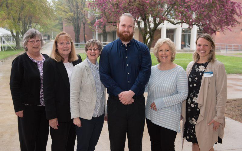 William Rollins and the NECC Alumni Board