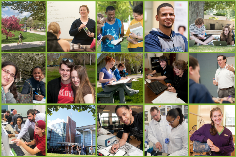 15 thumbnails of NECC Students at NECC