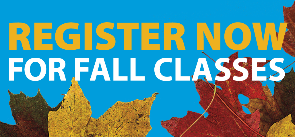 Register for Fall
