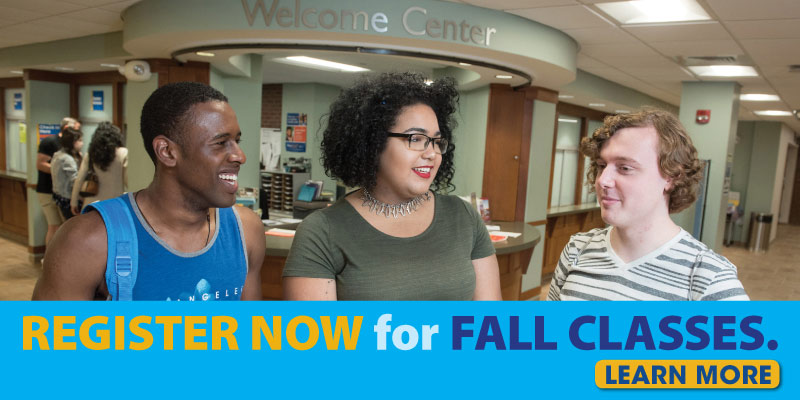 Register now for fall classes. Learn more.