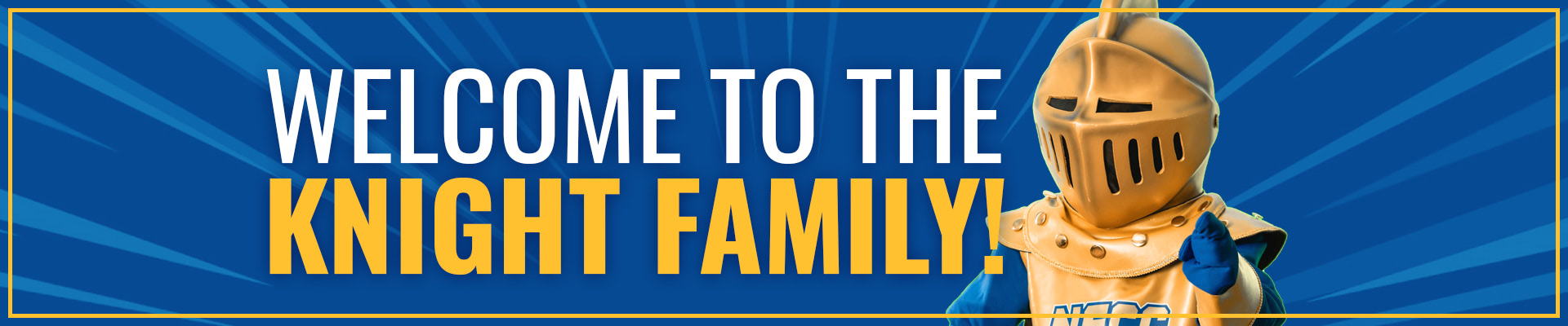 Welcome to the Knight family!